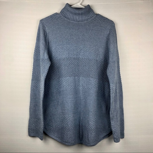 eight eight eight Sweaters - 🐑 Eight Eight Eight Blue Turtleneck Sweater, L.